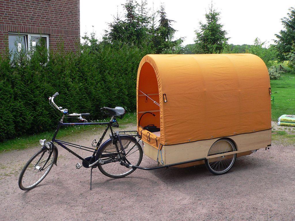 Прицепы для велосипеда
