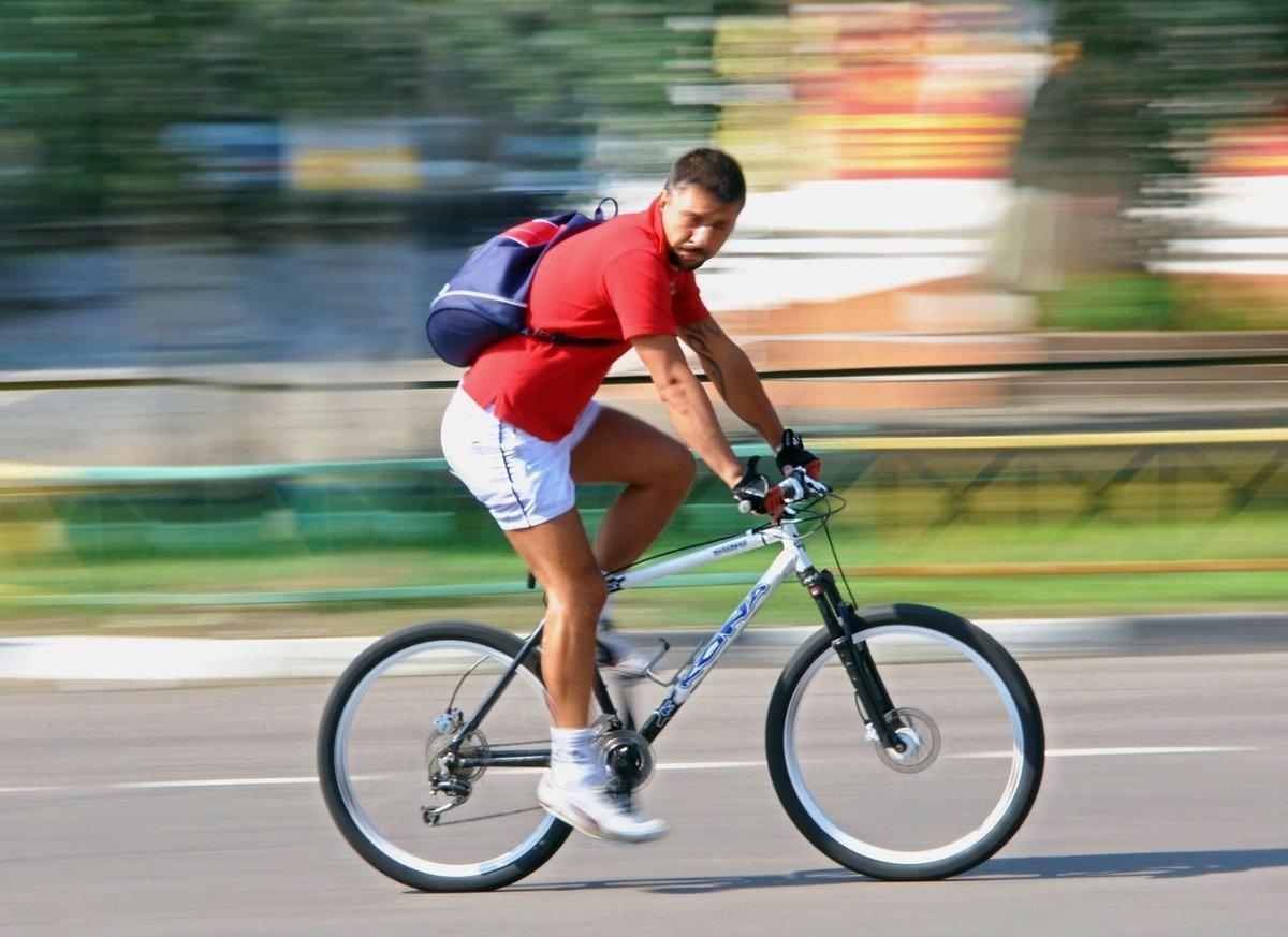 Какую максимальную скорость можно развить на велосипеде?