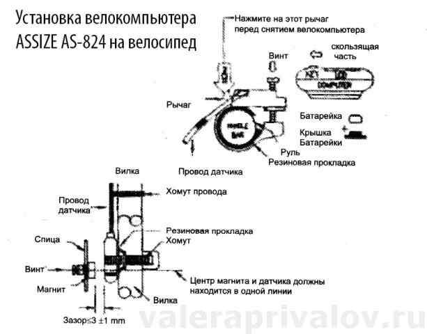 ✅ настройка велокомпьютера - veloexpert33.ru