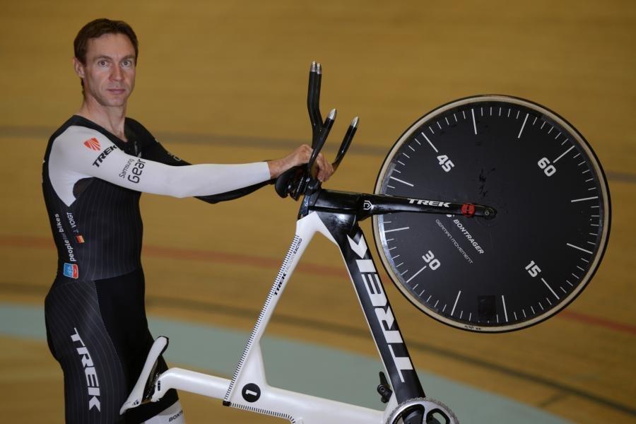 Рекордные скорости на велосипеде