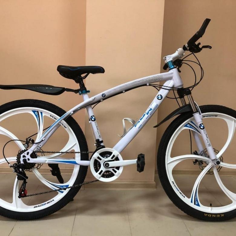 Велосипед без спиц в колесах