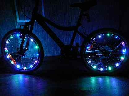 Велоподсветка, как сделать подсветку на велосипед своими руками