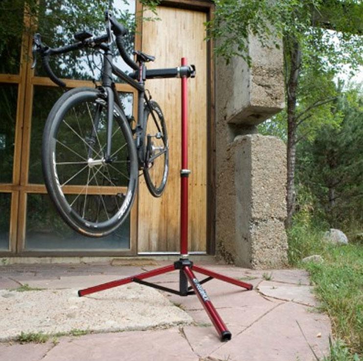 Инструкция по созданию подставки для велосипеда под заднее колесо своими руками