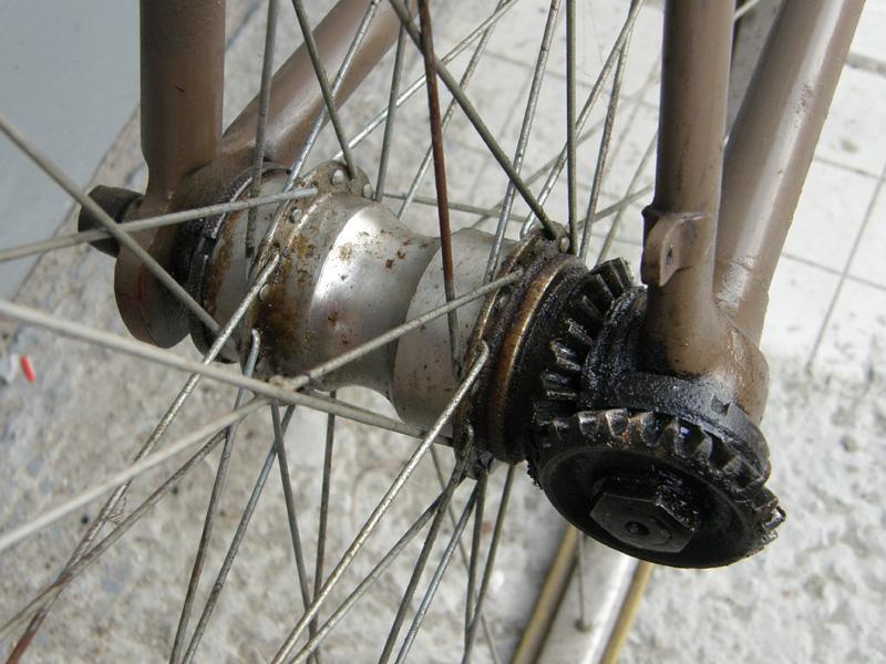 Ременная передача для велосипеда