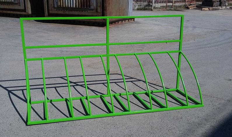 Парковка для велосипедов чертеж