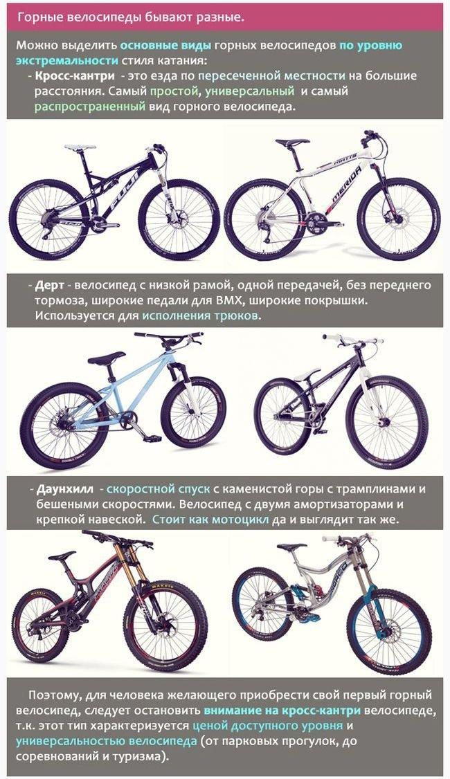 Горные велосипеды от А до Я