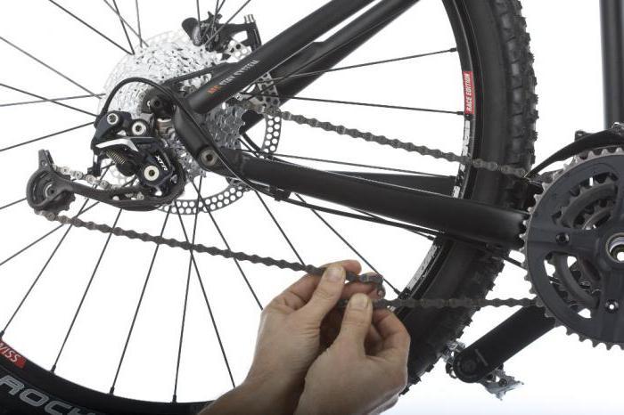 Уход за цепью велосипеда