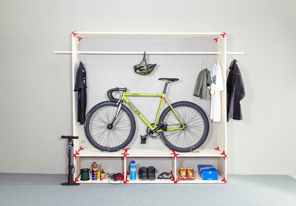 Как хранить велосипед зимой в гараже