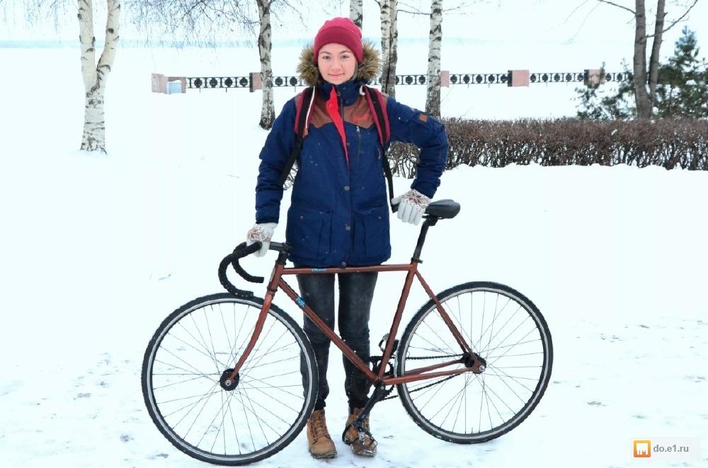 Как безопасно ездить на велосипеде зимой: советы авк