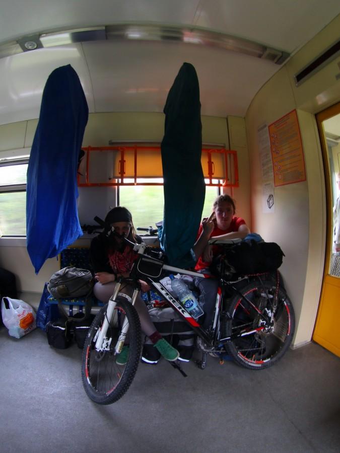 Провоз велосипеда в поезде дальнего следования: перевозка в упаковке