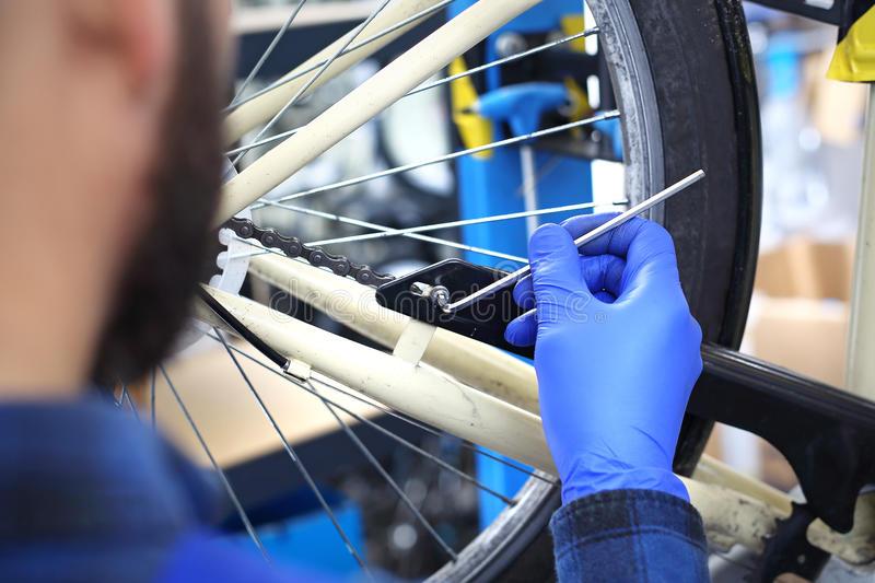 Техническое обслуживание велосипеда