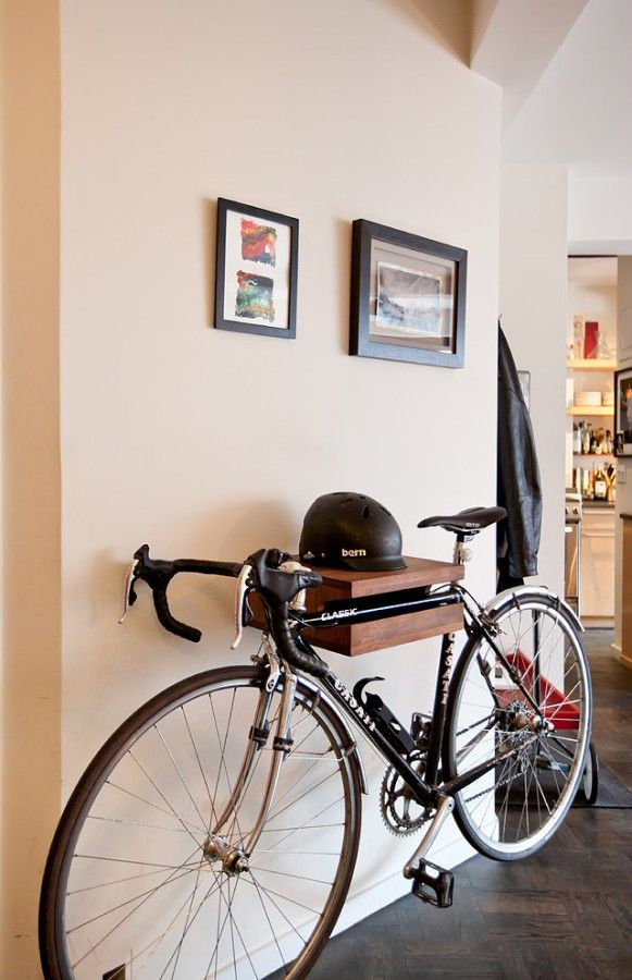 Как хранить велосипед: обзор способов, идеи креплений, фото и видео