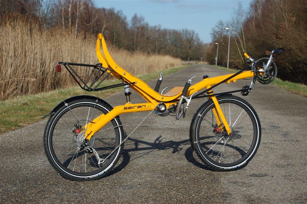 Лигерад - лежачий трехколесный велосипед своими руками