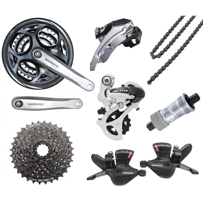Shimano altus, особенности, отличия, для каких велосипедов подходит
