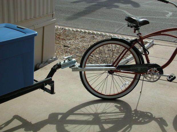 Велосипедный прицеп из профильной трубы своими руками