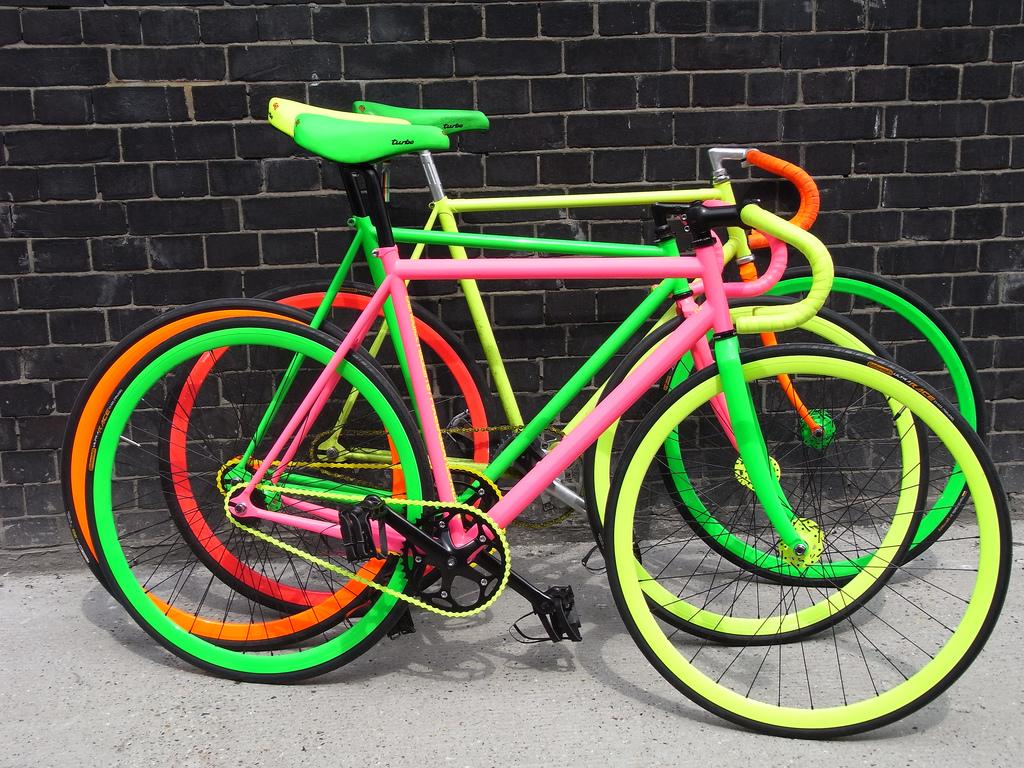 Покраска велосипеда: с чего начать и как осуществить