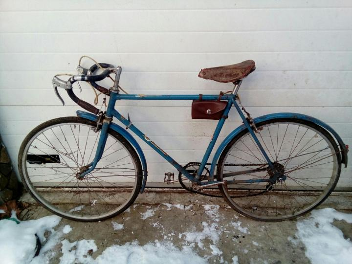 Старые скоростные велосипеды