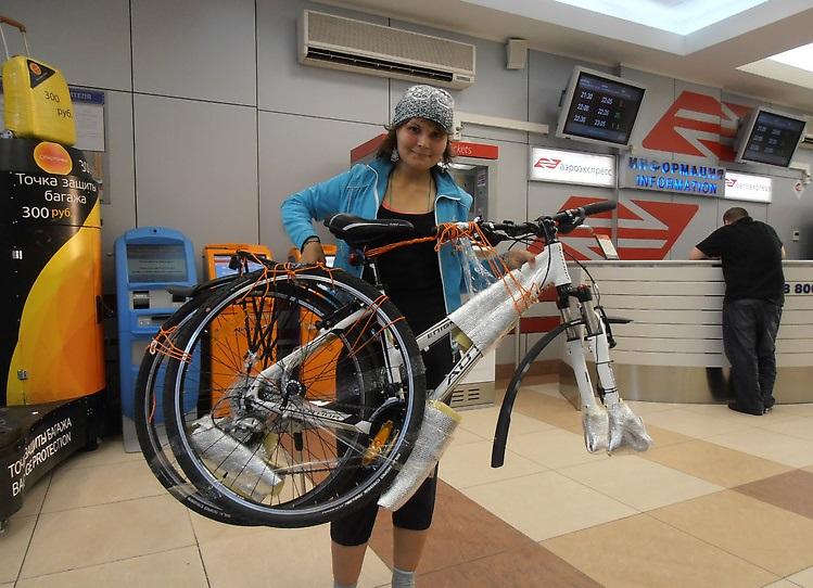 Перевозка велосипеда в самолете