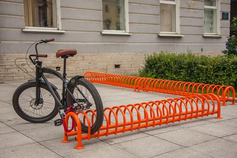 Велопарковка своими руками чертежи. практичная и недорогая парковка для велосипедов своими руками