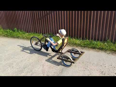 Самодельный грузовой, трехколесный велосипед своими руками