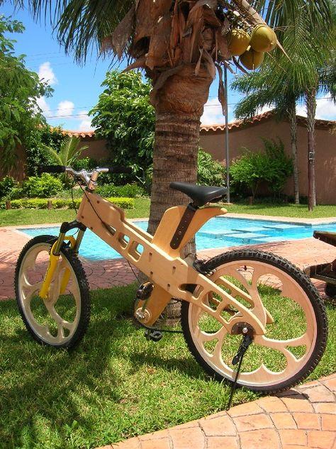 Велосипед из дерева своими руками