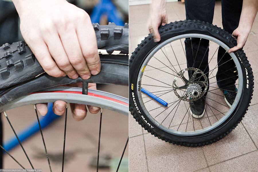 Как защитить шины велосипеда?