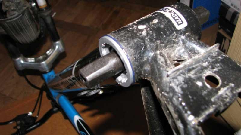 Каретка велосипеда stels