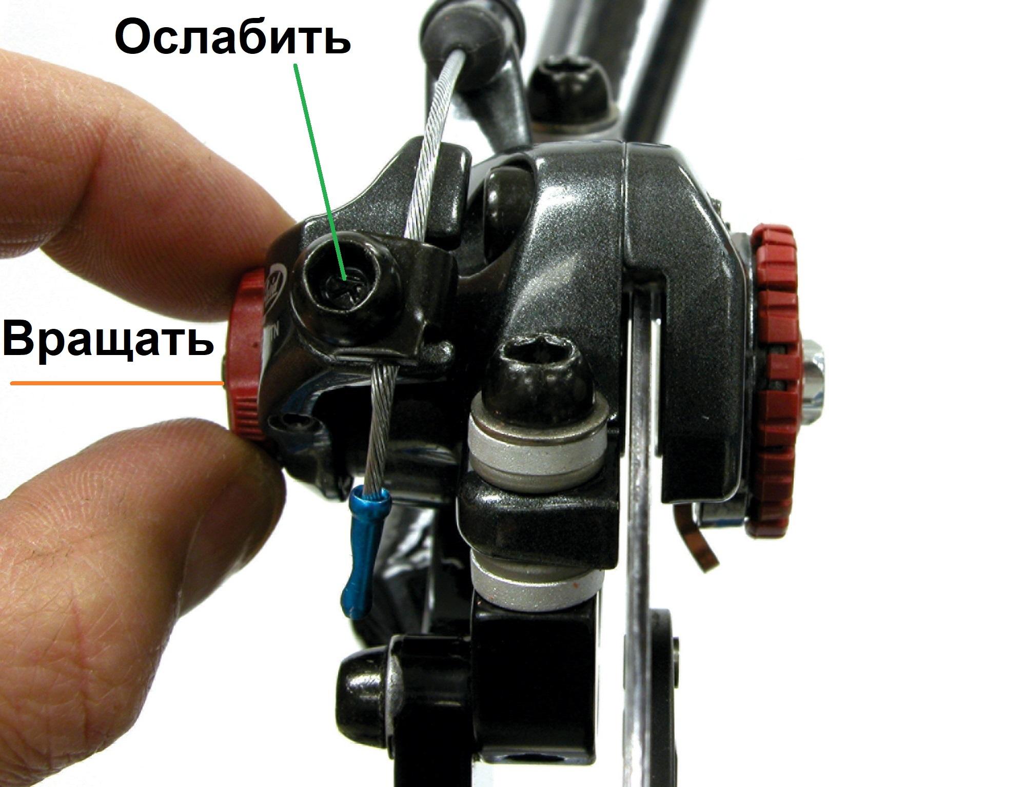 Обслуживание дисковых тормозов велосипеда