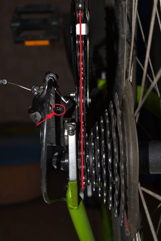 Регулировка переключения скоростей на велосипеде