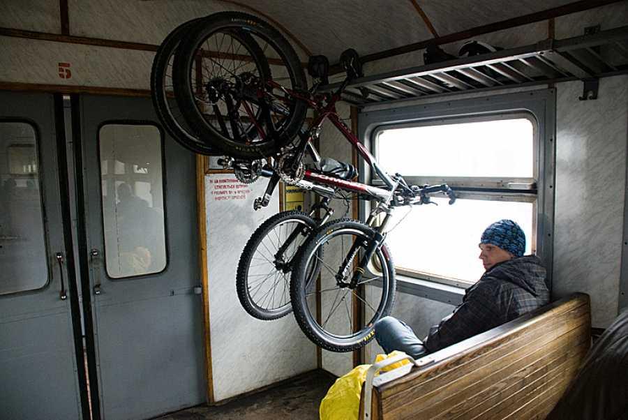 Провоз велосипеда в электричке и поезде