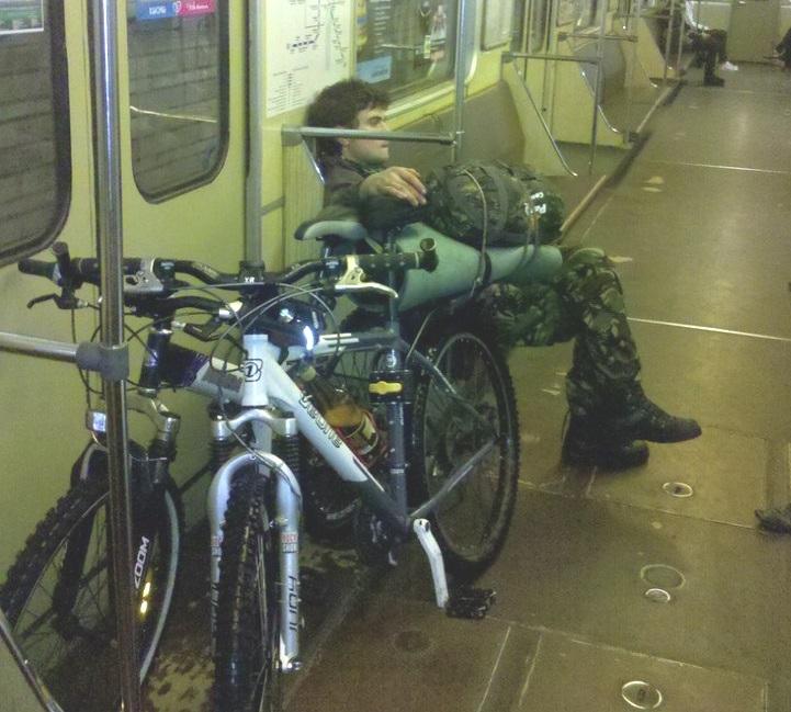 Пускают ли в метро с велосипедом