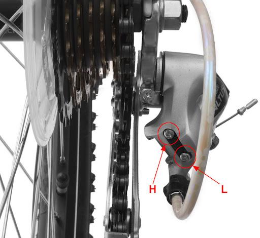 Переключатель скоростей или как настроить скорости на велосипеде