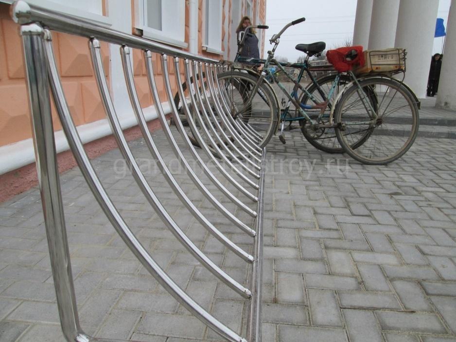 Велопарковка своими руками из металла чертежи. образцы велопарковок