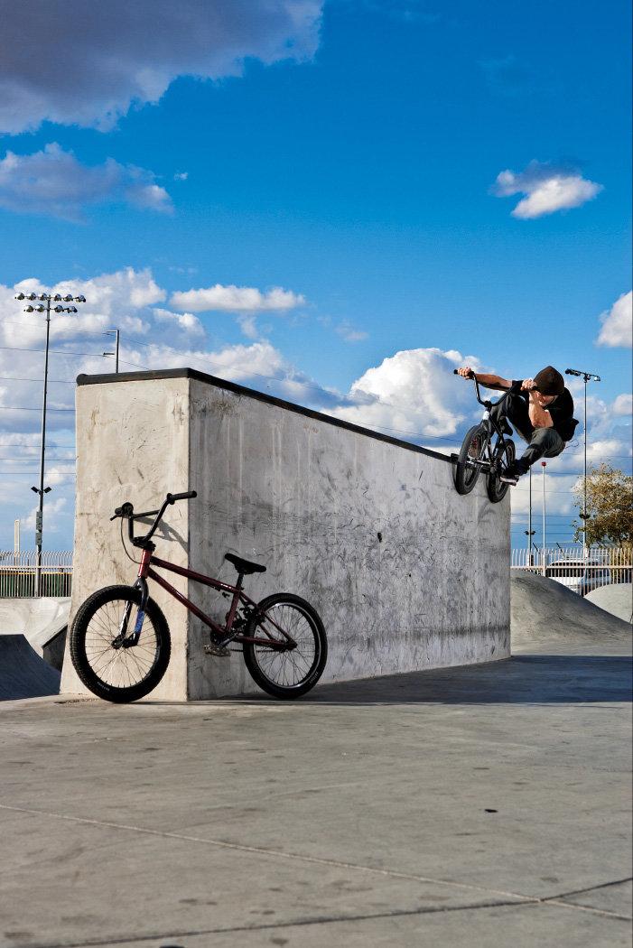Трюковой BMX-велосипед