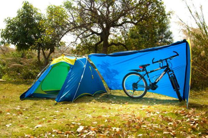 Выбираем надежную палатку