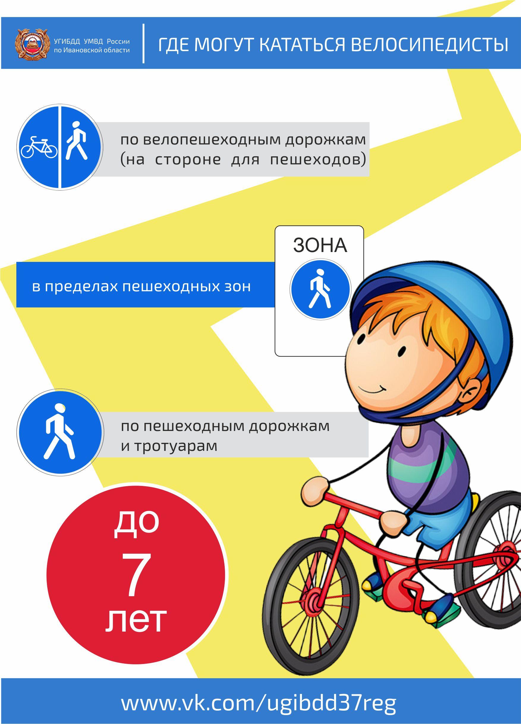 По какой стороне дороги должны двигаться велосипедисты?
