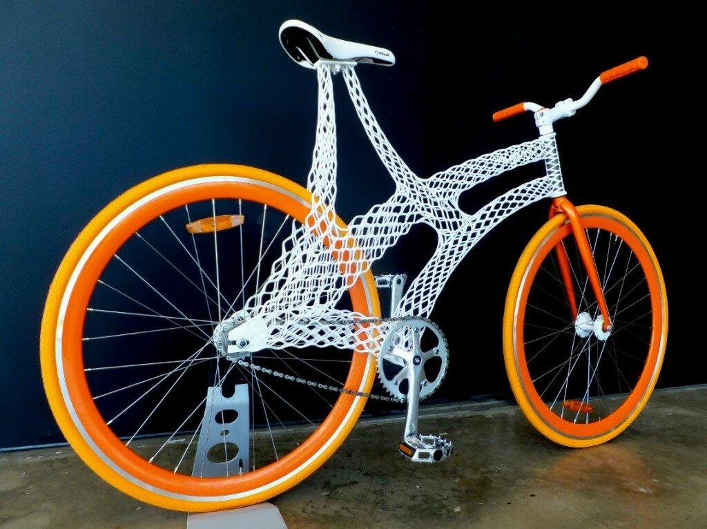 Печатать на 3Д принтере уникальных велосипедов - реальность!