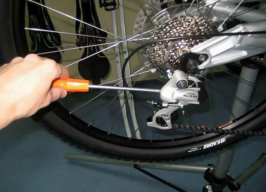 Регулировка скоростей на велосипеде: настройка переднего и заднего переключателя. подробная инструкция с фото