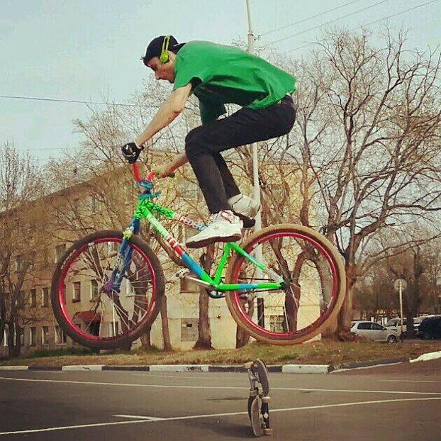 Как научиться делать банни-хоп (bunny hop) на велосипеде