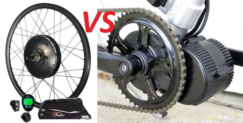 Какой электромотор для велосипеда лучше: на фрикционной передаче, мотор-колесо или подвесной?