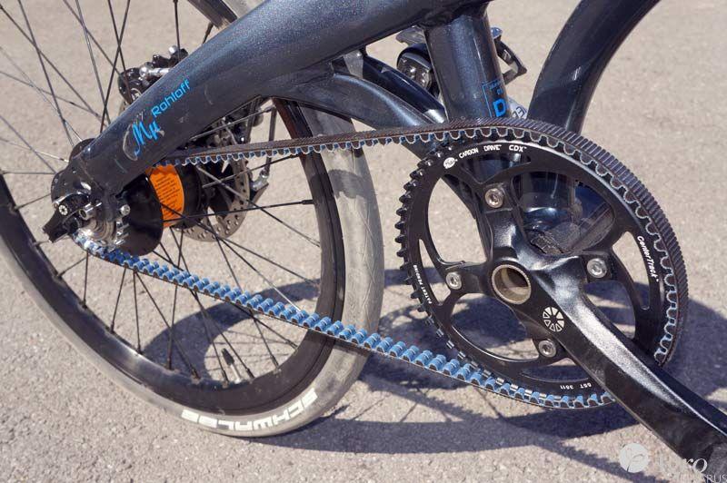 Особенности велосипедов с ременной передачей
