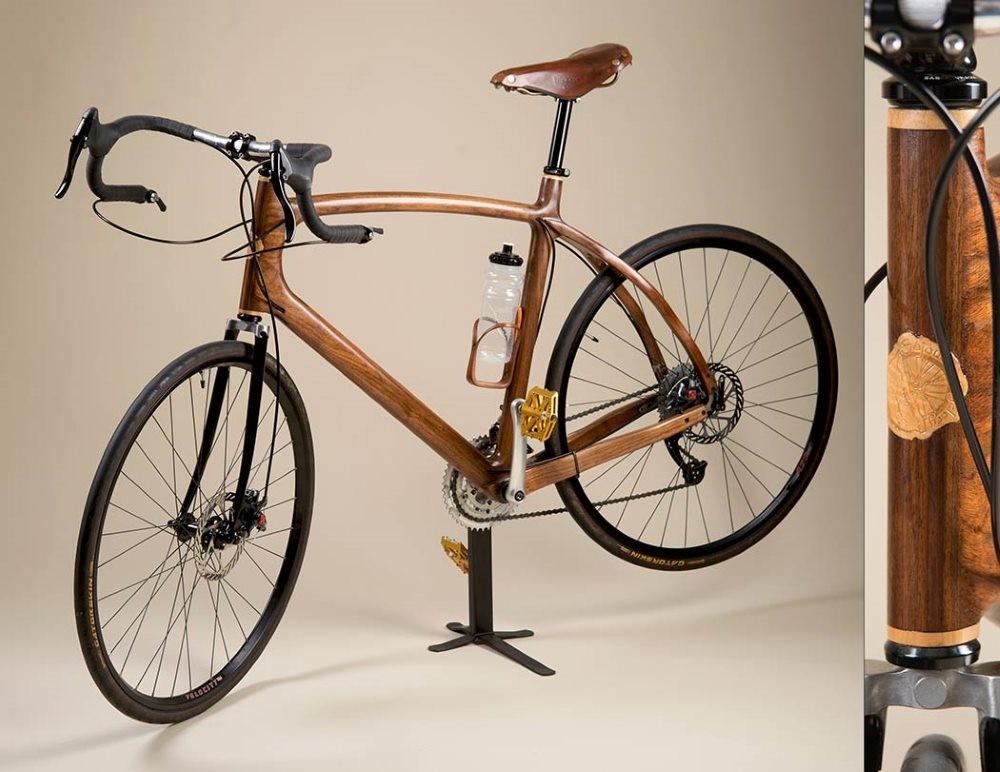 В каком году изобрели первый двухколесный деревянный велосипед