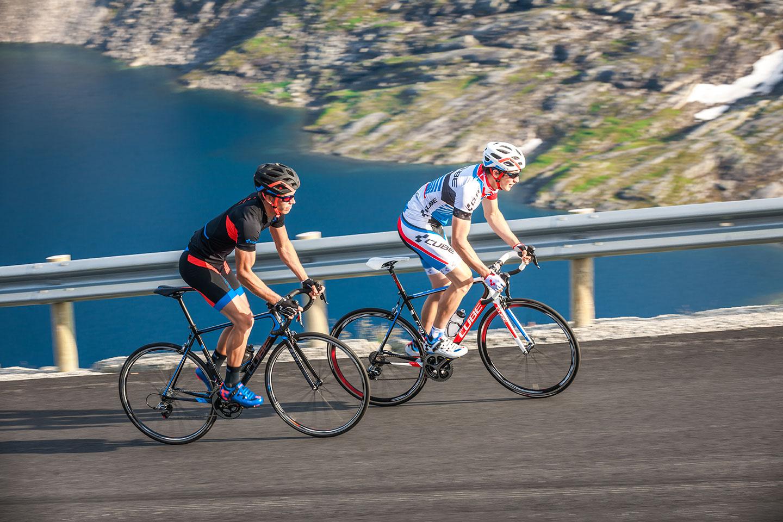 Правильная посадка на велосипеде: схема положения при езде
