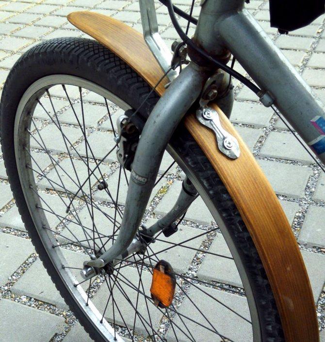 Брызговики своими руками на велосипед