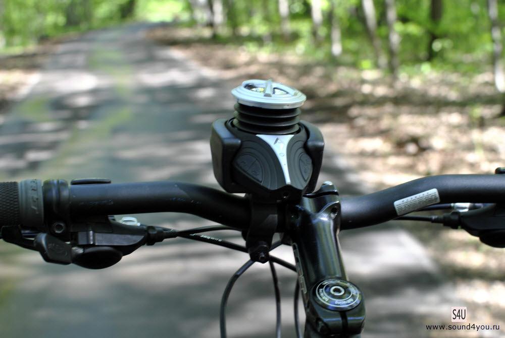 Акустика для велосипеда