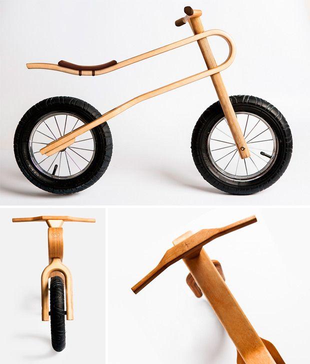 Деревянный велосипед: лучше или хуже