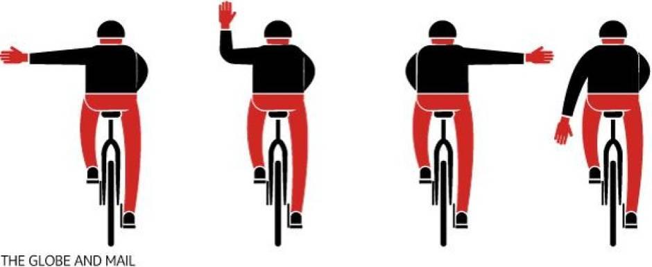 Правила поведения для велосипедистов
