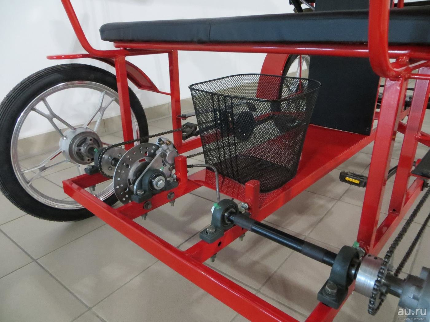 Трехколесный велосипед для взрослых своими руками