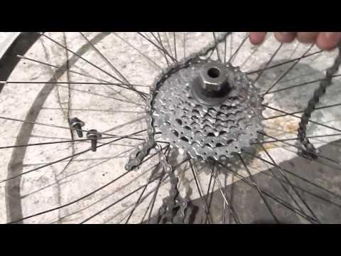 Замена кассеты на велосипеде, фото – замена звездочек у колеса