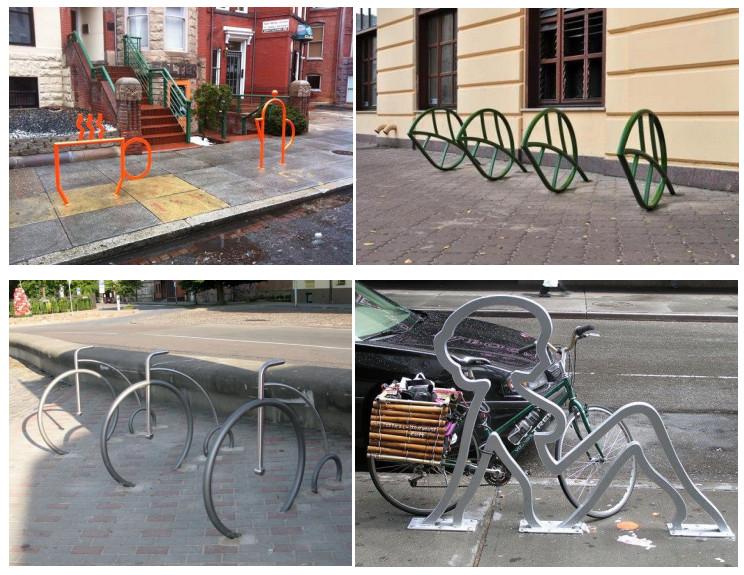 Парковка для велосипедов, устройство и место для стойки, как сделать стоянку своими руками?